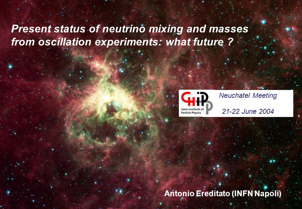 Present status of neutrino mixing and masses from oscillation experiments: what future .
