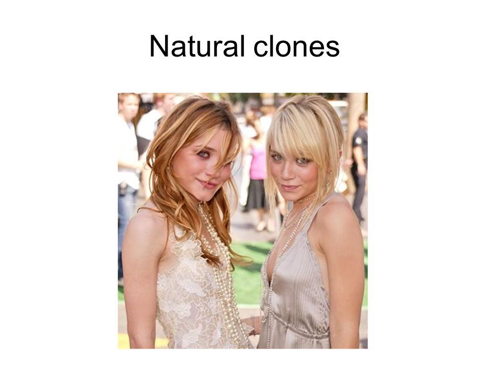 Natural clones