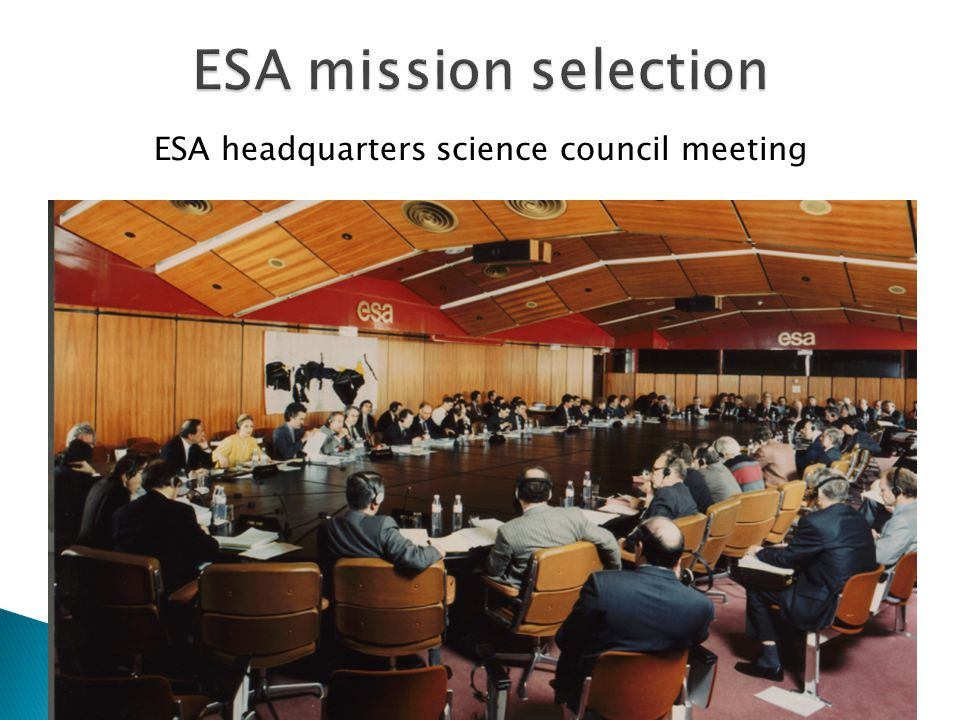 ESA headquarters science council meeting