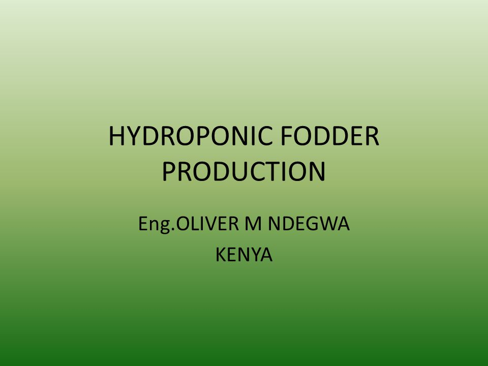 Hydroponic Fodder Benefits to all animals include: Faster weaning and less stress on mothers and youngstock Less manure due to increased digestibility of fodder Boosted immune system Increased longevity and lifespan Earlier heat cycles Improved fertility Stimulated appetite during heat stress Better behavior and temperament