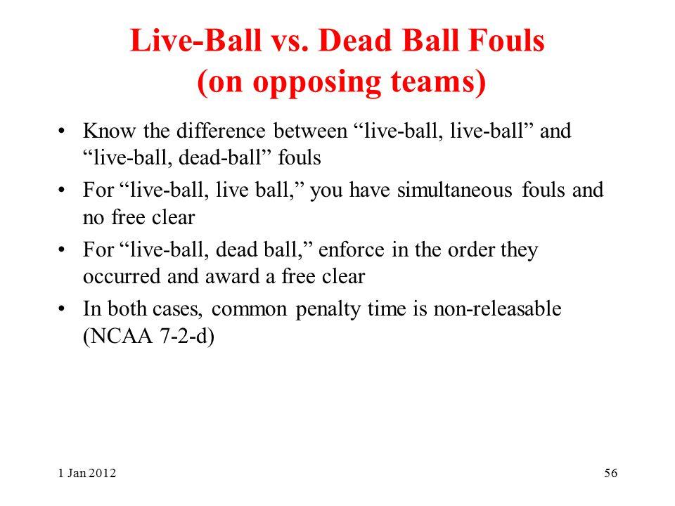 Live-Ball vs.