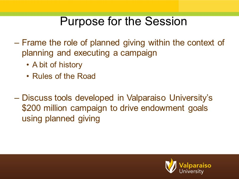 –Applied gift capacity of $100,000 to $1 million –Coupled with an affinity score (medium to high affinity) to a prospect pool segment Surfaced the best 700 prospects for cultivation and solicitation activity during the campaign quiet phase All 700 prospects were assigned during the campaign Top 700 Strategy