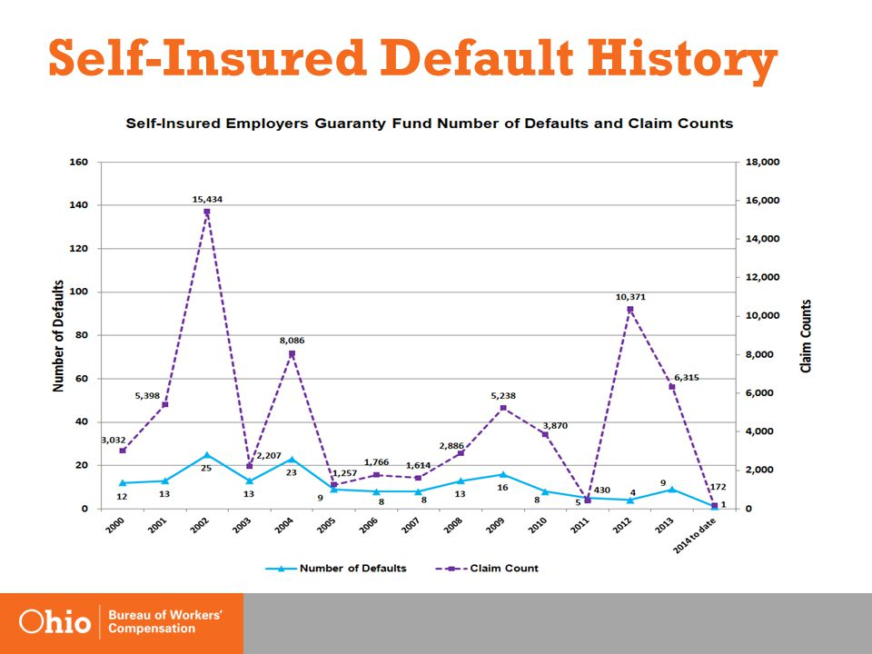 Self-Insured Default History