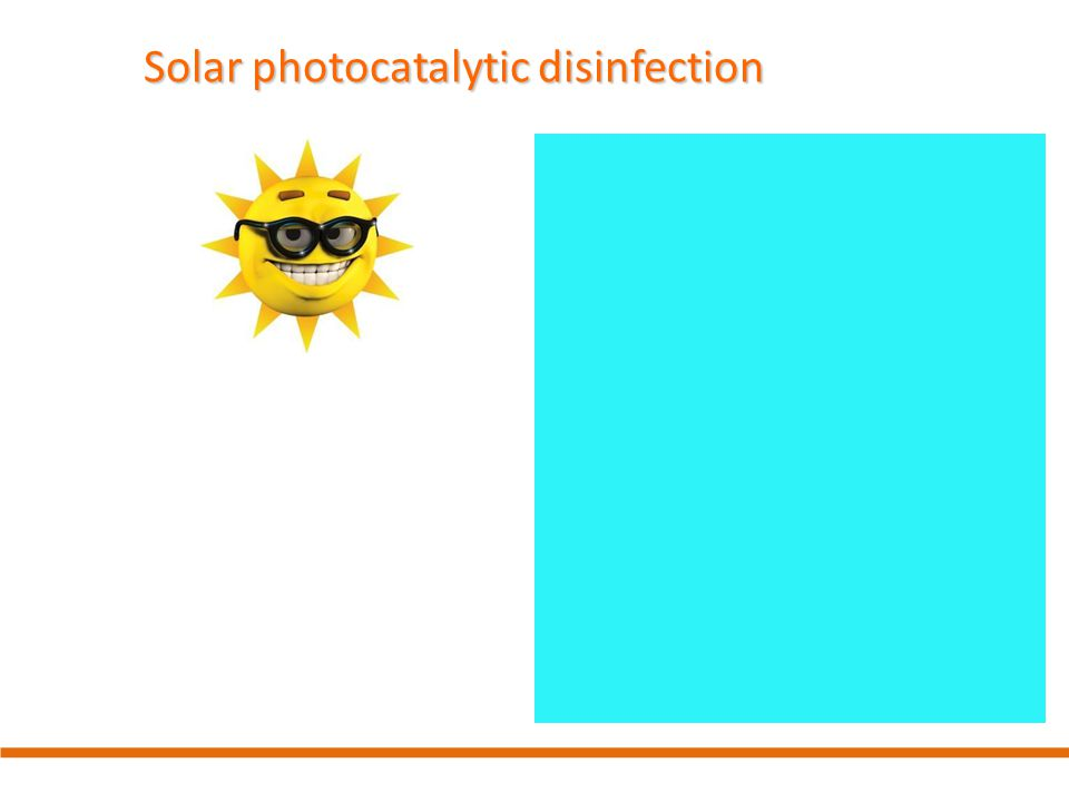 Solar photocatalytic disinfection