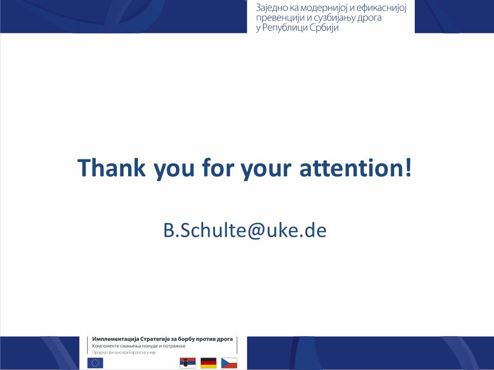 Thank you for your attention! B.Schulte@uke.de