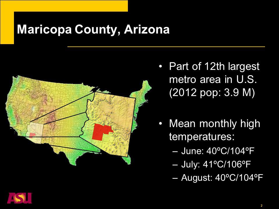 3 Heat-health impacts in Maricopa County HeatAZ.com (Maricopa County Dept. of Public Health)