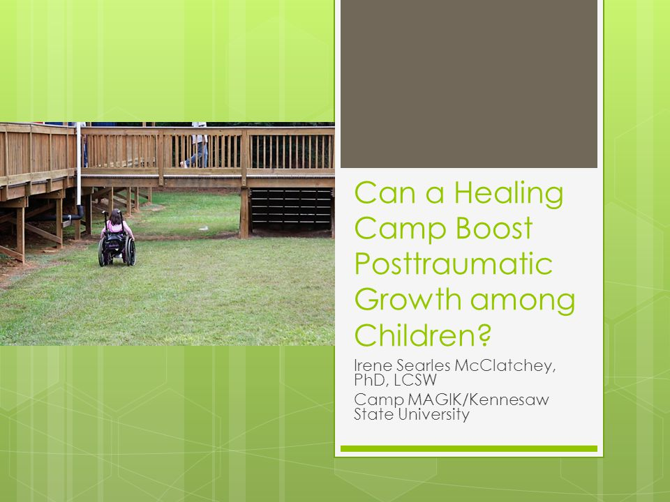Can a Healing Camp Boost Posttraumatic Growth among Children.