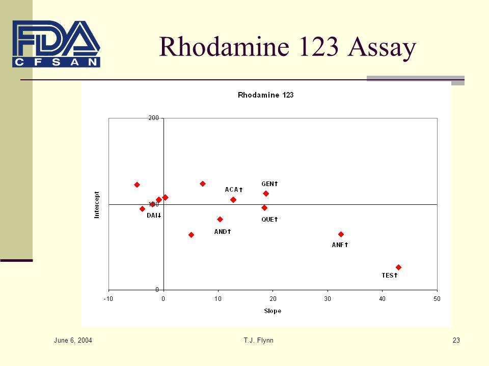 June 6, 2004 T.J. Flynn23 Rhodamine 123 Assay