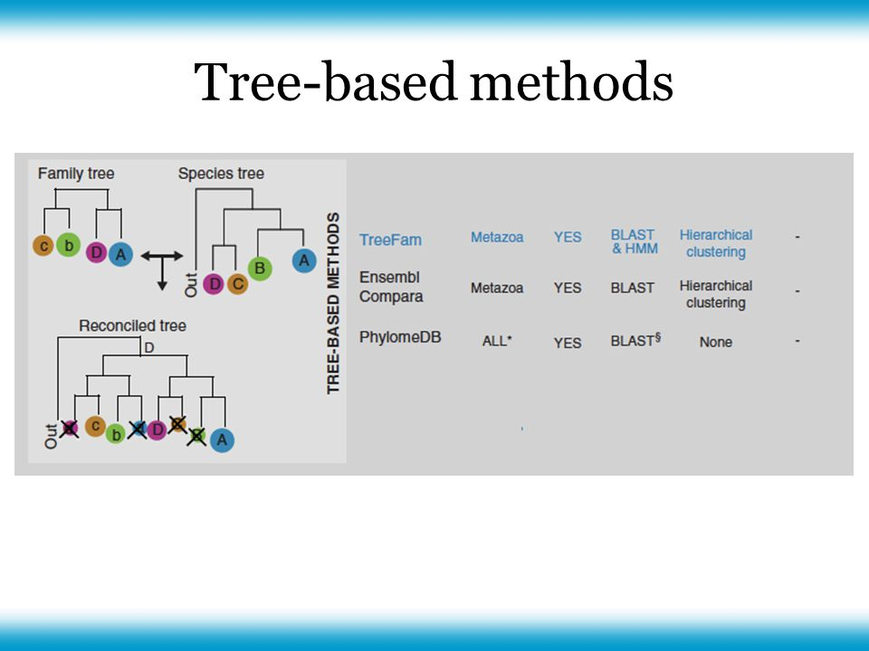 Tree-based methods