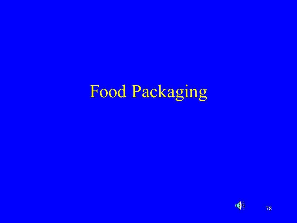 78 Food Packaging