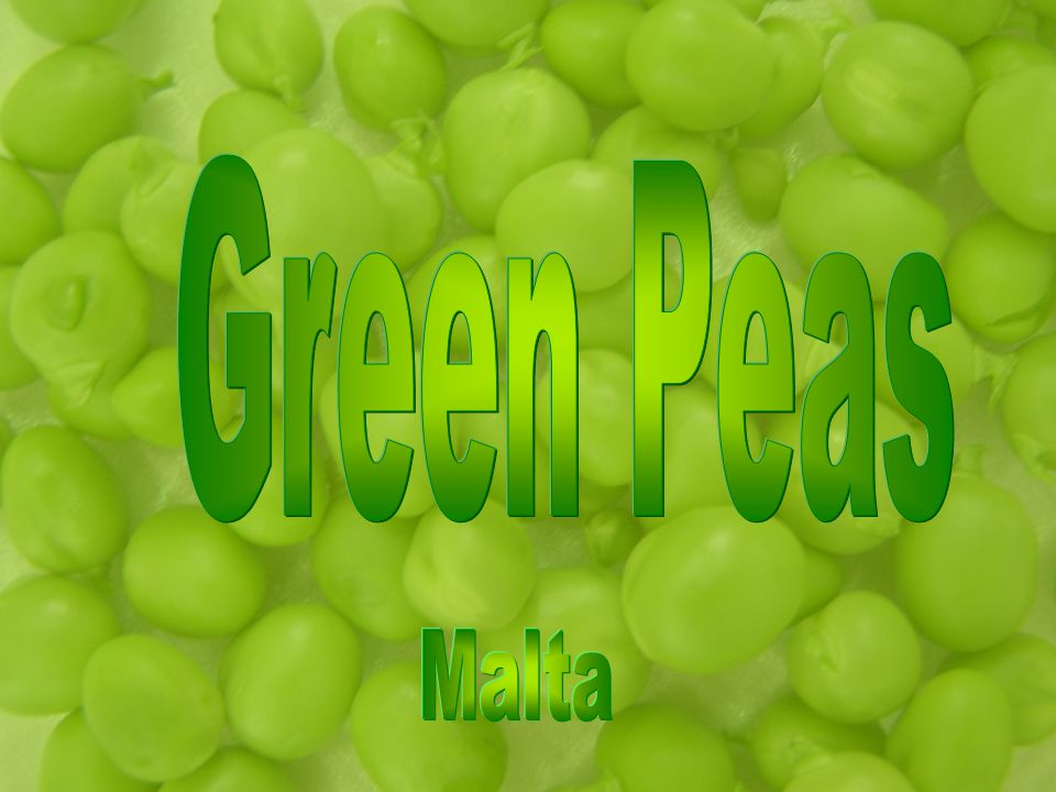 Nutritional Information Peas are a good source of vitamin A, vitamin C, folate, thiamine (B1), iron and phosphorus.