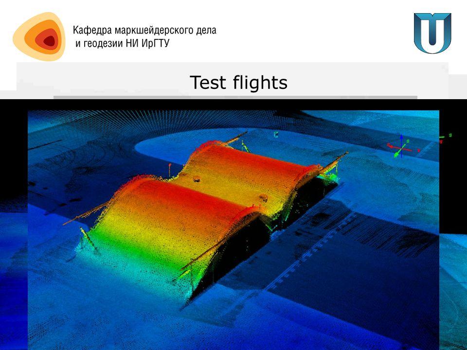 Test flights