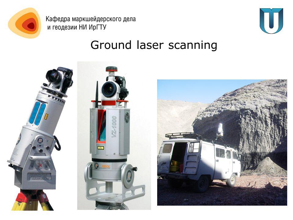 Ground laser scanning