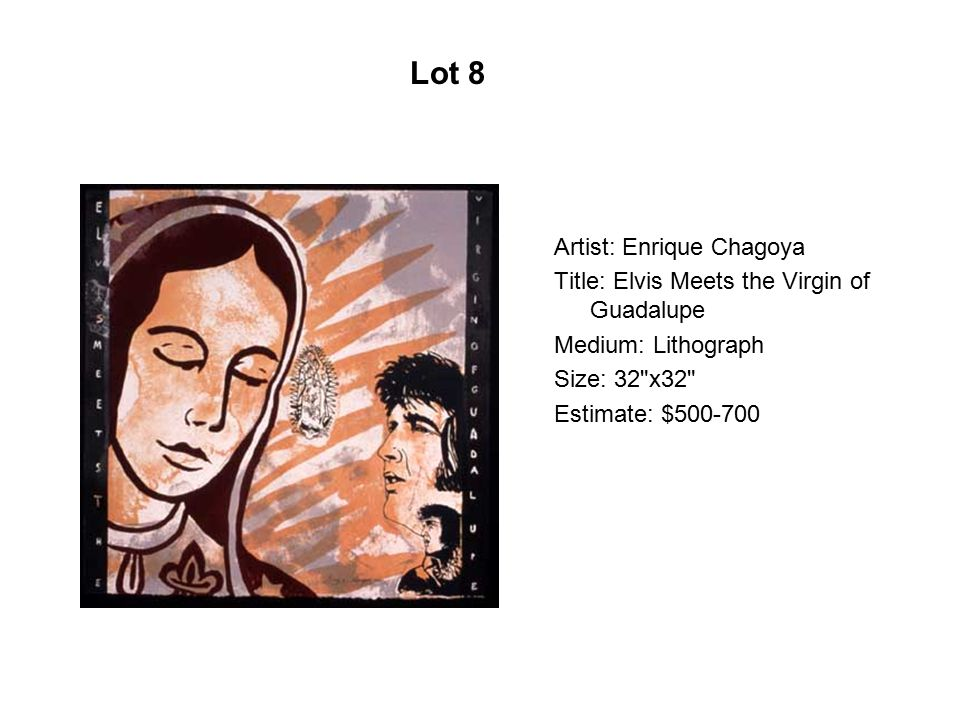 Artist: Xóchitl Gil Title: Scaregrow II Medium: Monoprint Serigraph panel Size: 26 x20 Estimate: $300-500 Lot 49
