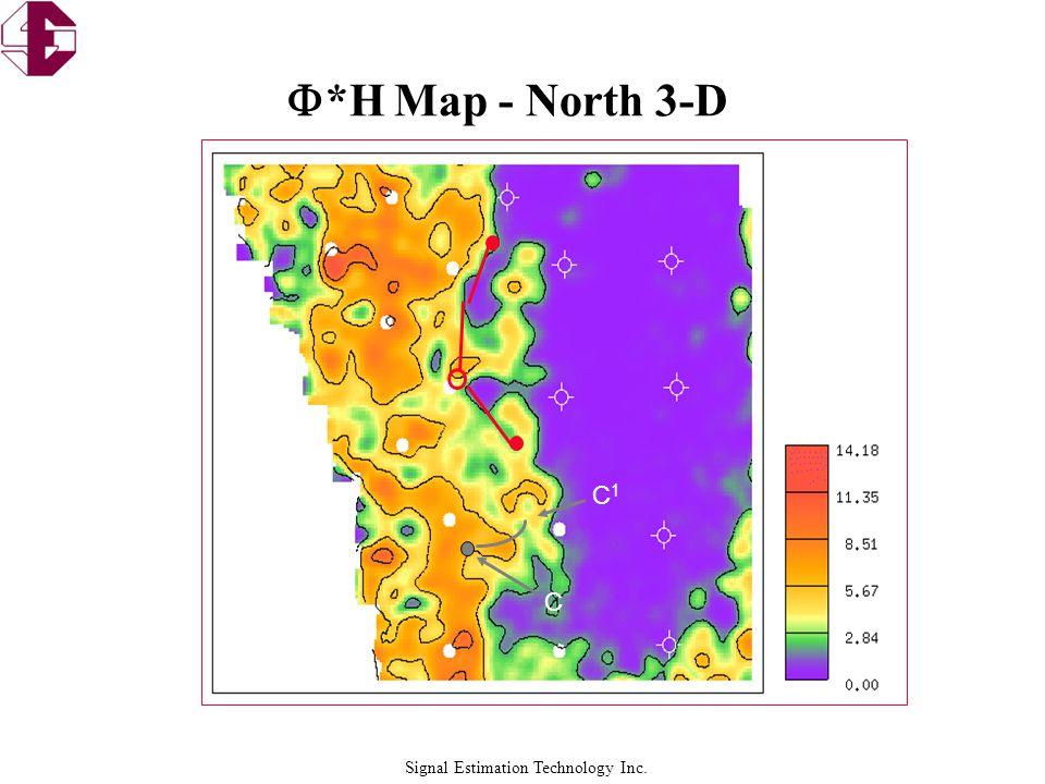 Signal Estimation Technology Inc.  *H Map - North 3-D C C1C1