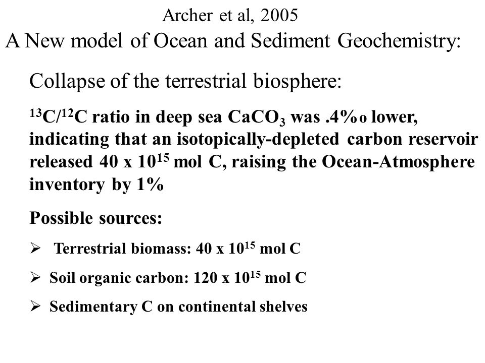 Archer et al, 2005 A New model of Ocean and Sediment Geochemistry: The Glacial Ocean model results: Iron flux to sea surface increases by 2.5 goes to regions that already receive sufficient iron.