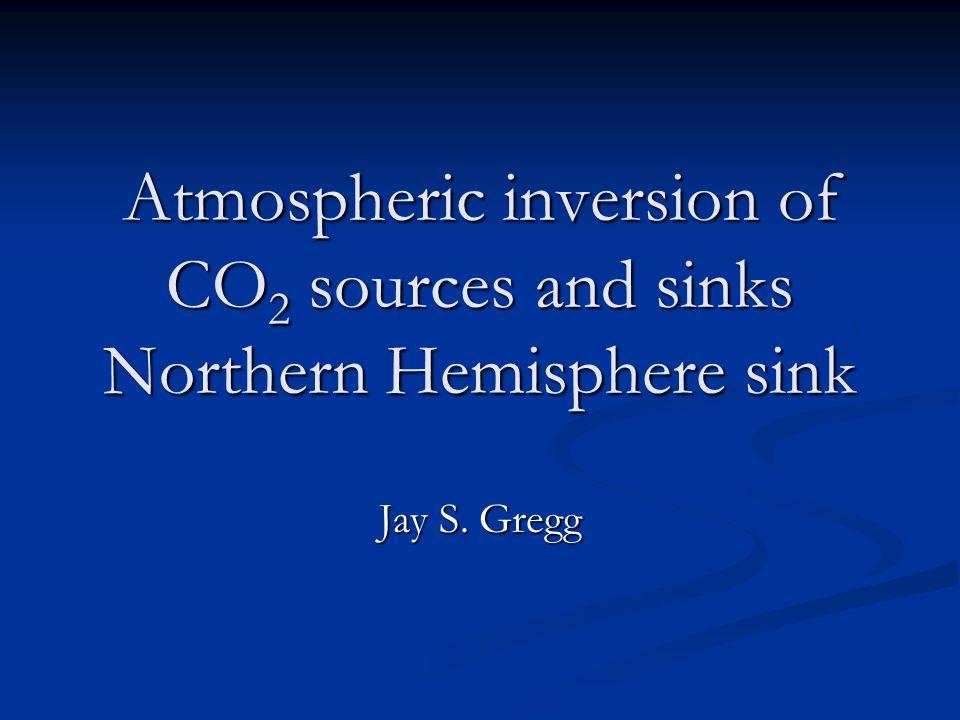 Oceanic CO 2 Fluxes Jan-Apr Jul-Oct Tans et al., 1990