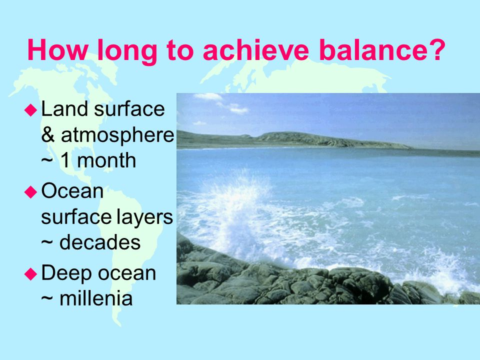 How long to achieve balance.
