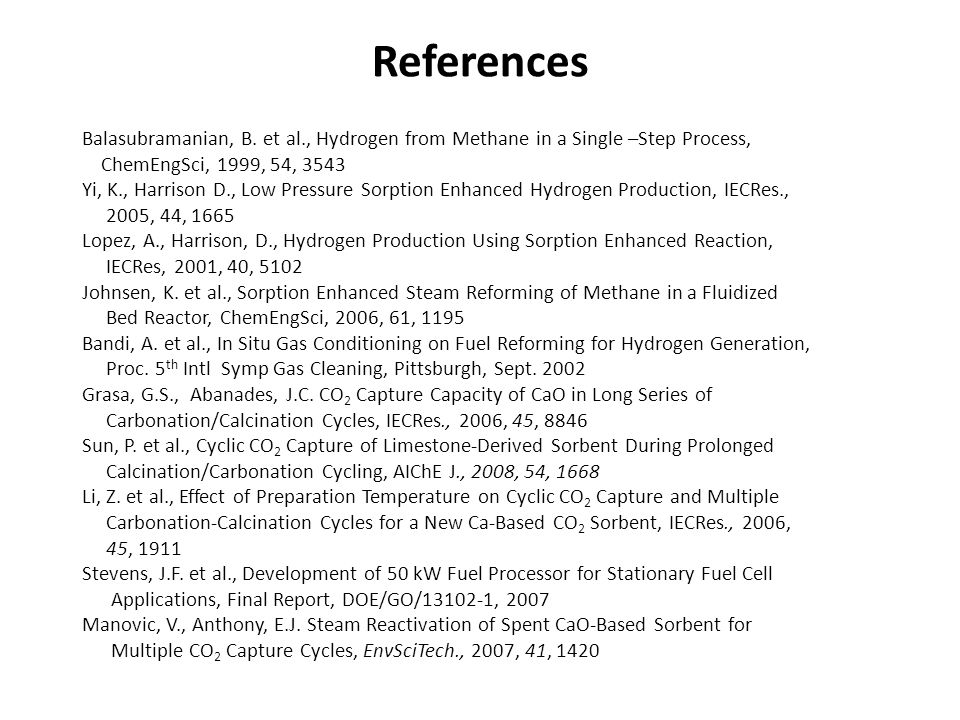 References Balasubramanian, B.