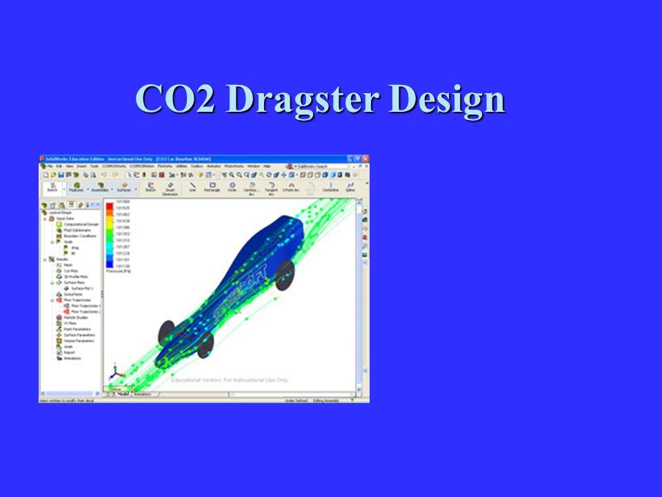 CO2 Dragster Design