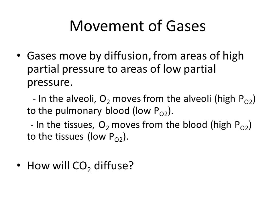 Release of bound CO 2 in the Lungs How does the CO 2 that combined with H 2 O and hemoglobin get released in the lungs.