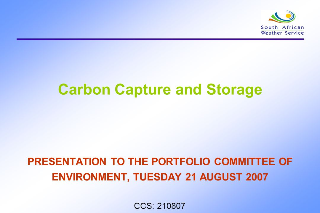 Storage of the CO2 is envisaged either in deep geological formations, deep oceans, or in the form of mineral carbonates.
