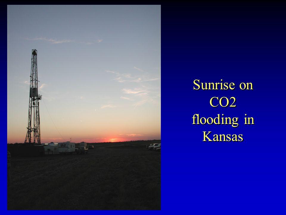 Sunrise on CO2 flooding in Kansas