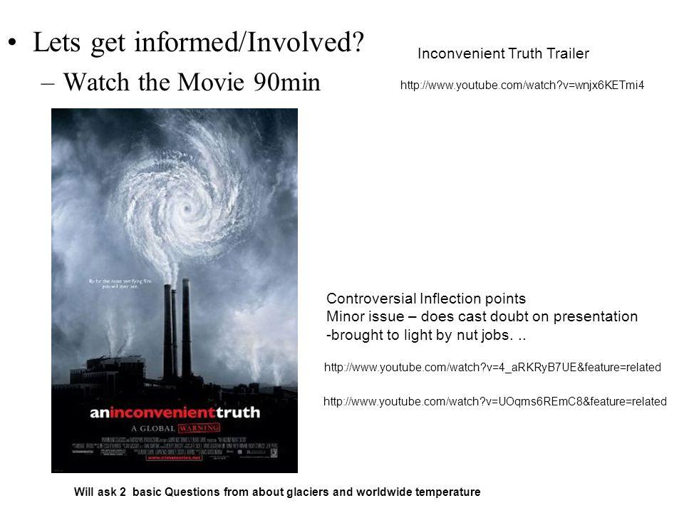 Lets get informed/Involved.