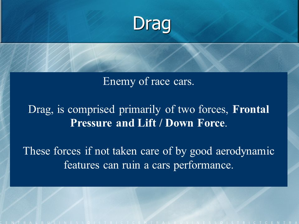 Drag Enemy of race cars.