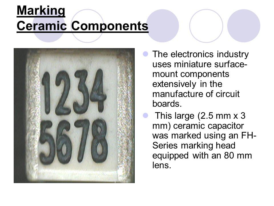 Drilling Ceramic 75-micron holes drilled in 0.015 ceramic (alumina) using a Synrad Evolution 240.Evolution 240