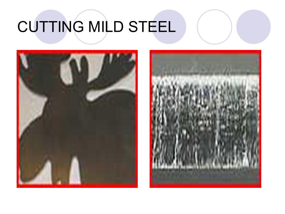 CUTTING MILD STEEL
