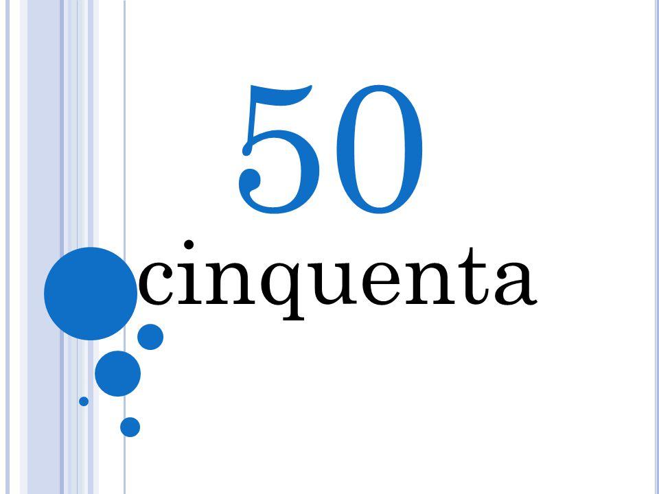 50 5 cinquenta