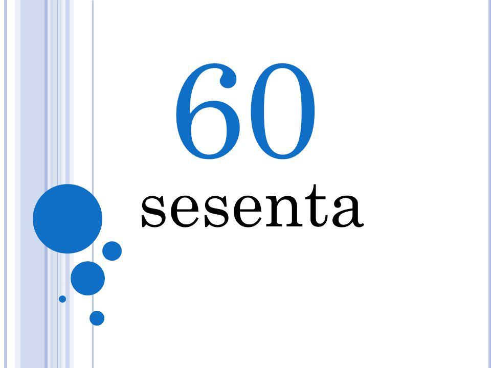 60 5 sesenta