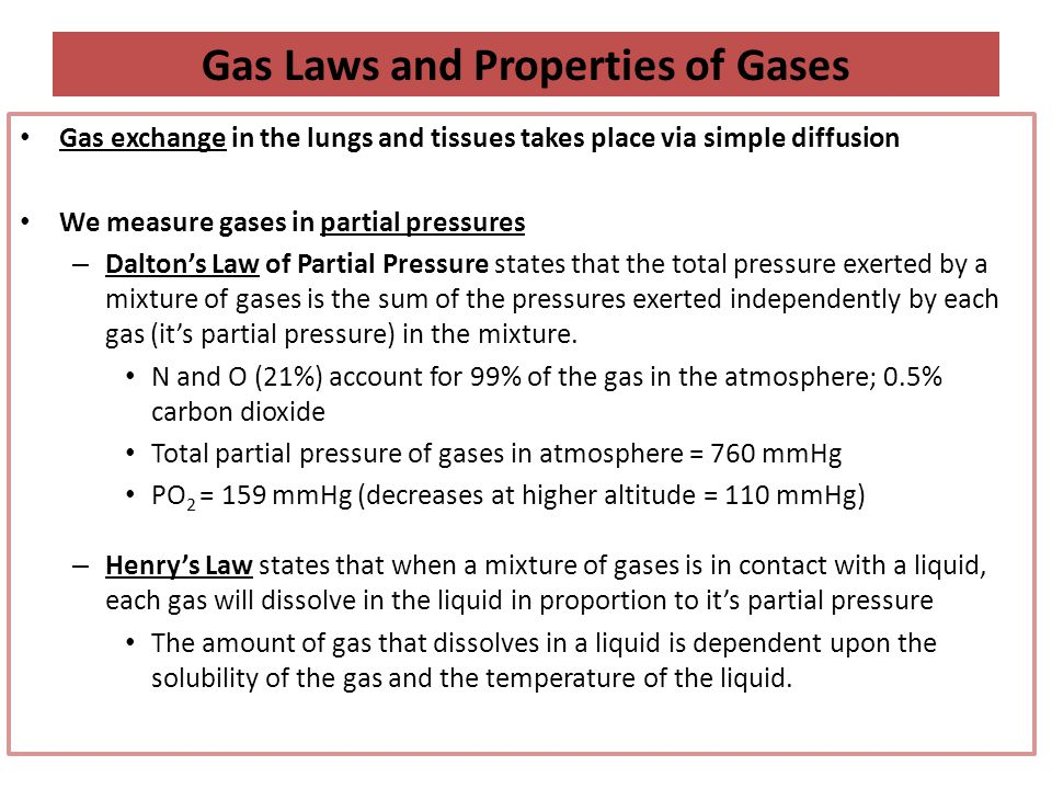 Gas Solubility Solubility of gases depends on: – 1.