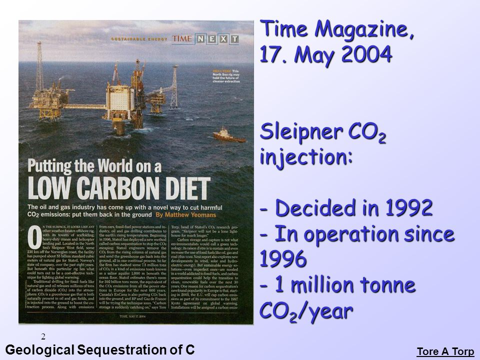 Geological Sequestration of C Monitoring: Safety Over TIME.