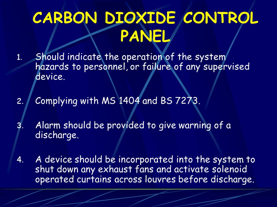 CARBON DIOXIDE CYLINDERS 1. Gas stored in a liquefied form at ambient temperatures. 2. Working pressure of 59 bars at 21C and pressure tested at 228 B