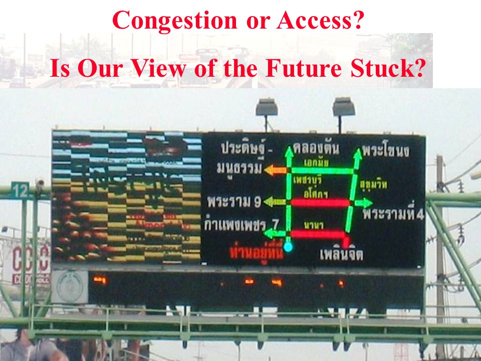 Congestion or Access Is Our View of the Future Stuck