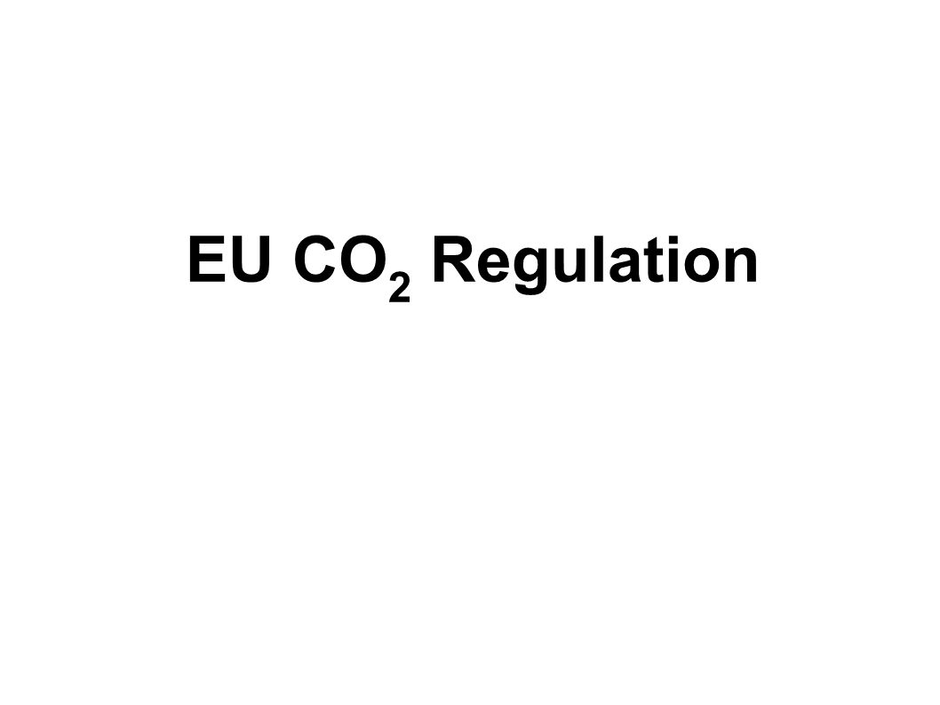 Has the EU CO2 Regulation increased the Car Prices.