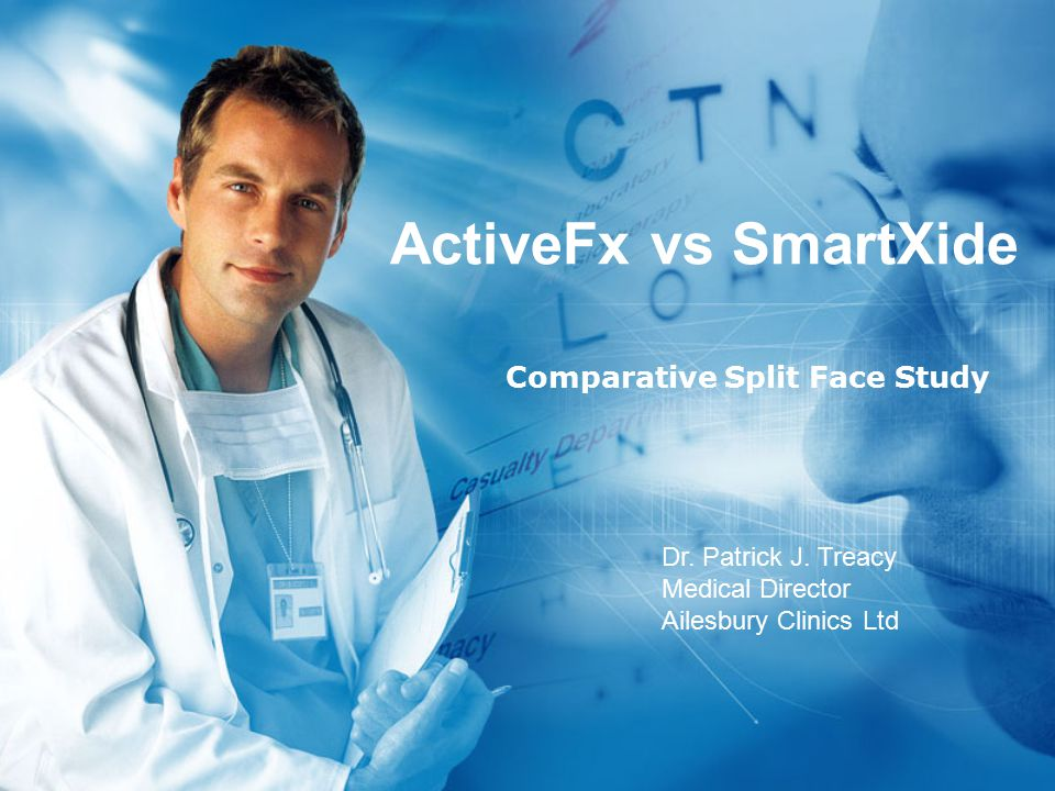 ActiveFx vs SmartXide Comparative Split Face Study Dr.