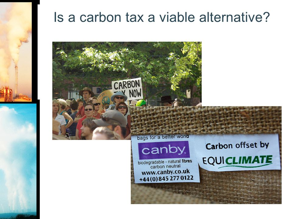 Is a carbon tax a viable alternative?