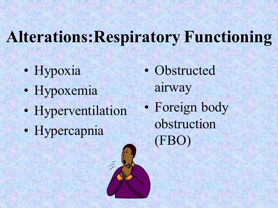 Assessing Respiratory Functioning Diagnostic tests: Sputum Nose/throat cultures CBC (complete blood count) ABG (arterial blood gases) CXR (chest x ray