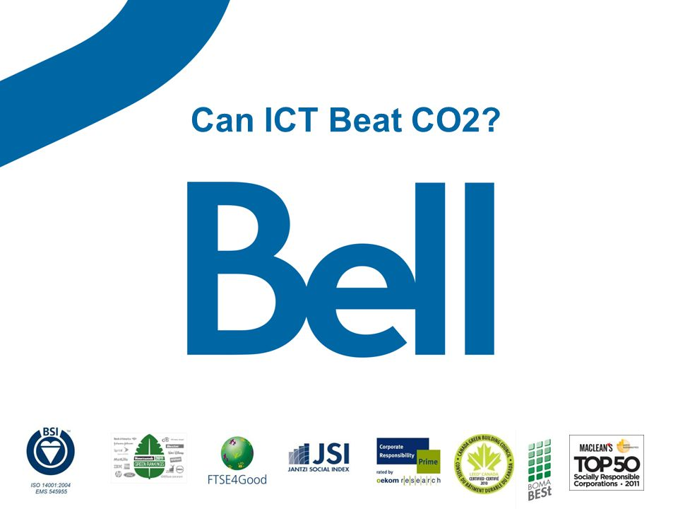 Can ICT Beat CO2?