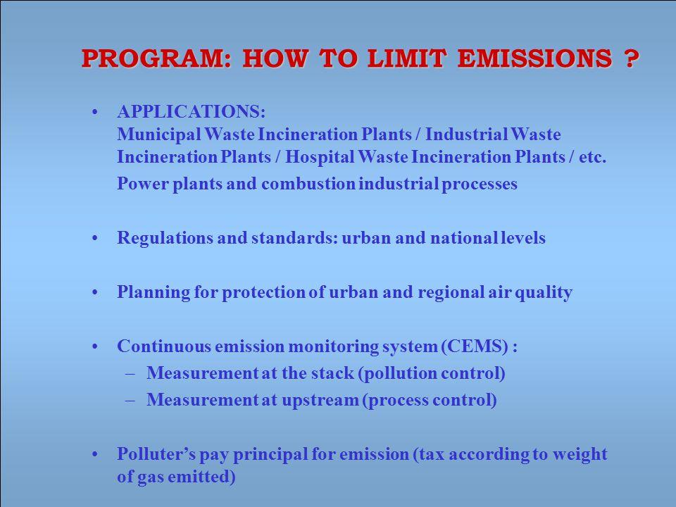 APPLICATIONS: Municipal Waste Incineration Plants / Industrial Waste Incineration Plants / Hospital Waste Incineration Plants / etc.