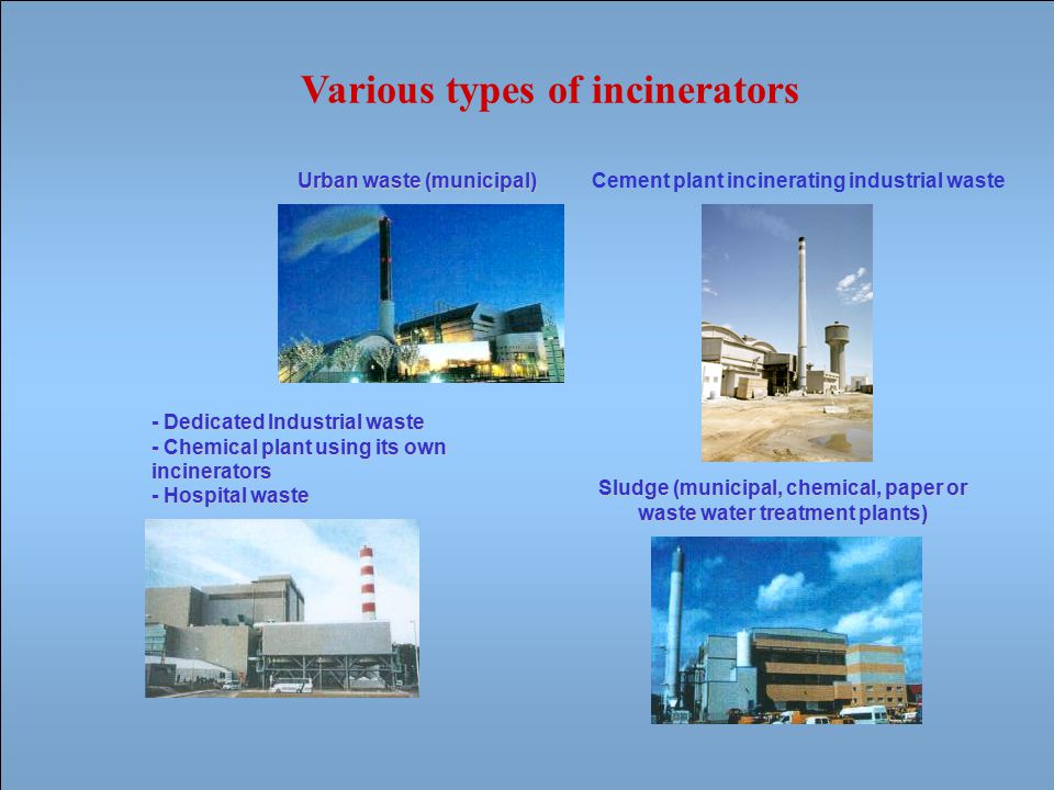 Environnemental friendly technologies Preparation of fuel materials and by-product energy sources (clean coal, RDF, wood, biofuels, etc…) Low NOx burner Pollution abatement devices (gas) : –DeNOx –DeDiox –Acid neutralization –Desulfurization Filtration of particles : –Electrostatic precipitator –Baghouse Cogeneration (heat and power) Use of renewable energy sources Promotion of low carbon power generation technologies