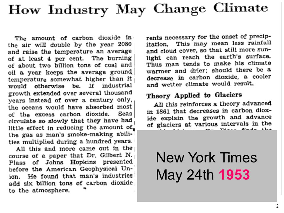 2 New York Times May 24th 1953