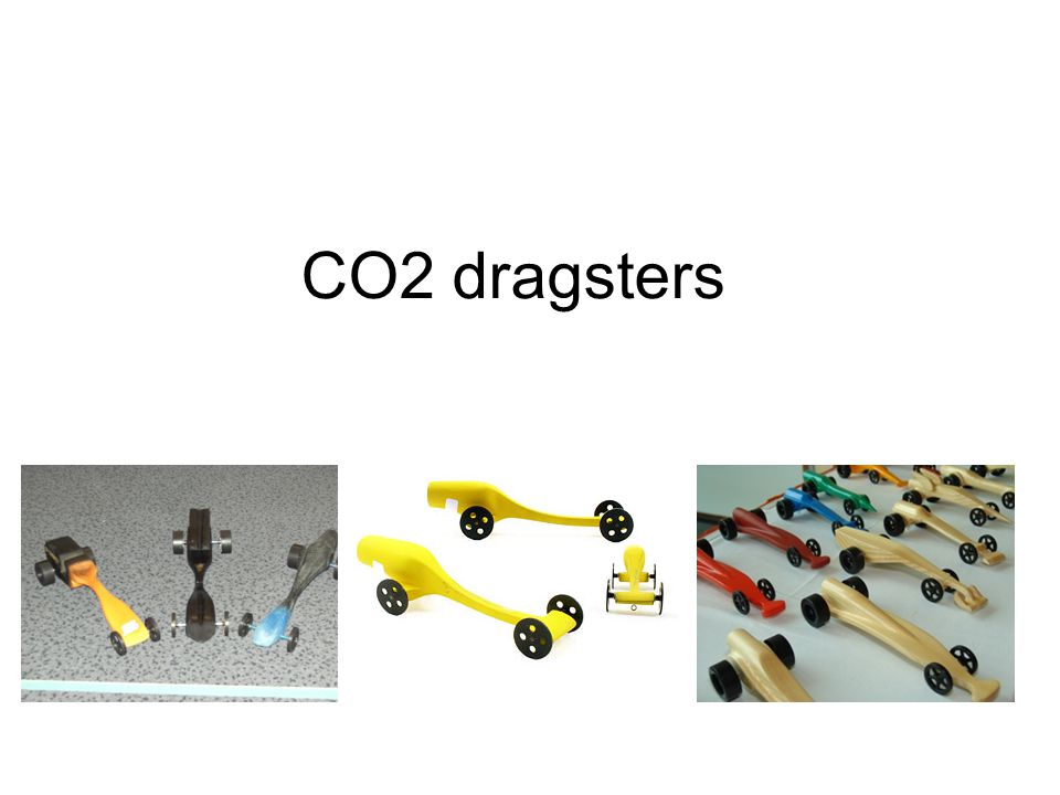 CO2 dragsters