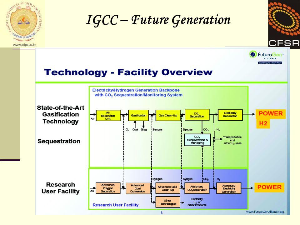 9 IGCC – Future Generation