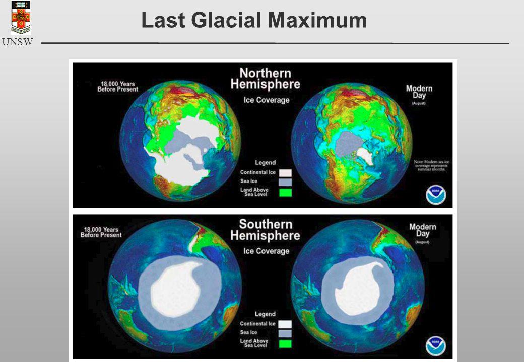 UNSW Last Glacial Maximum