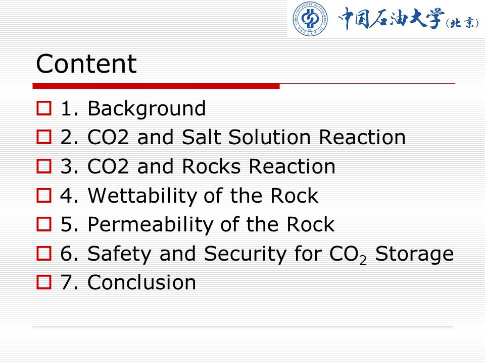 1.Background 1.Reduction of Green House Gas Emission---A topic which concerned around the world nowadays.