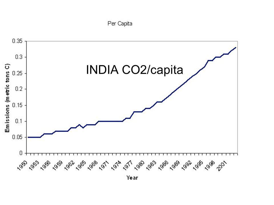 INDIA CO2/capita